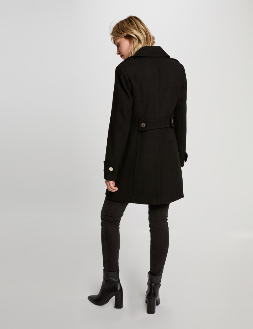 Morgan Coat GENEPI.N NOIR