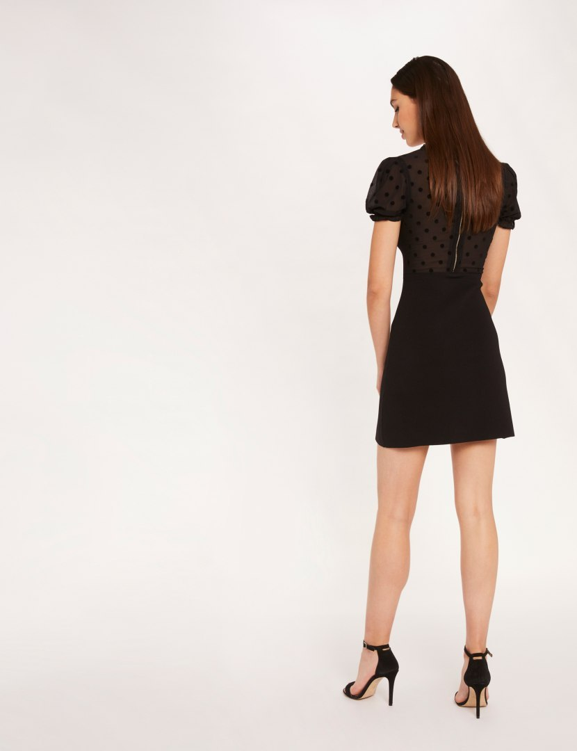Morgan Dress RMBISOU NOIR