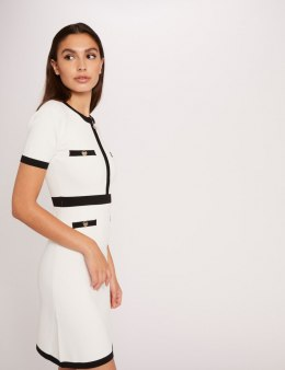 Morgan Dress RMOIR OFF WHITE/NOIR