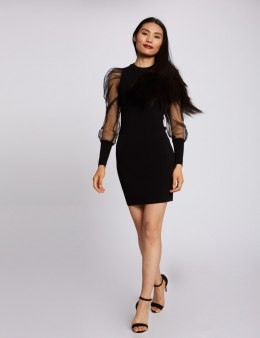 Morgan Dress RMTH NOIR