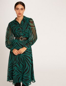 Morgan Dress RZIBI.F VERT IMPRIME
