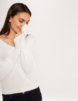 Morgan Sweater MANUELA OFF WHITE