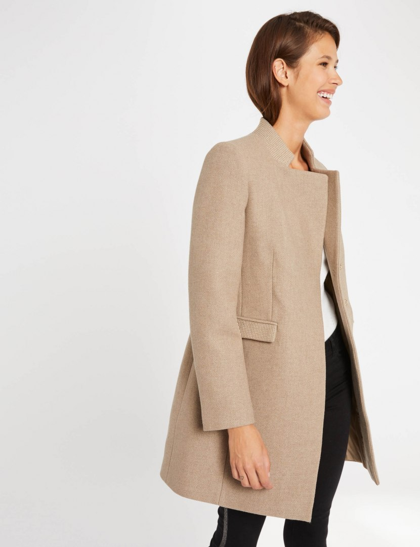 Morgan Coat GBISS.N BEIGE