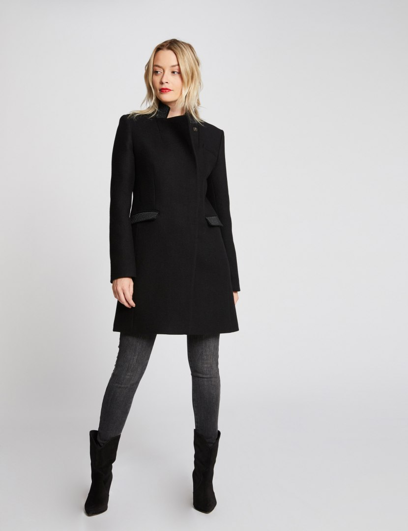 Morgan Coat GBISS.N NOIR