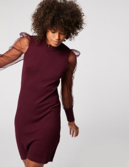 Morgan Dress RMIBI AUBERGINE