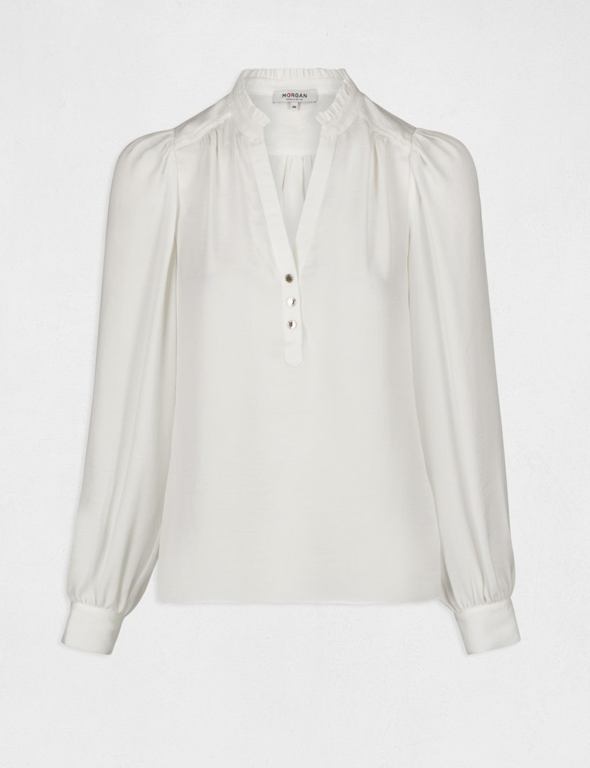 Morgan Blouse OCHICHI OFF WHITE