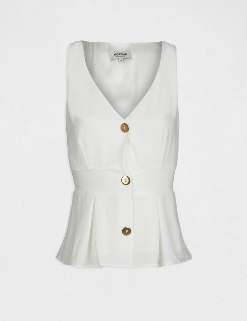 Morgan Blouse OROOL.F OFF WHITE
