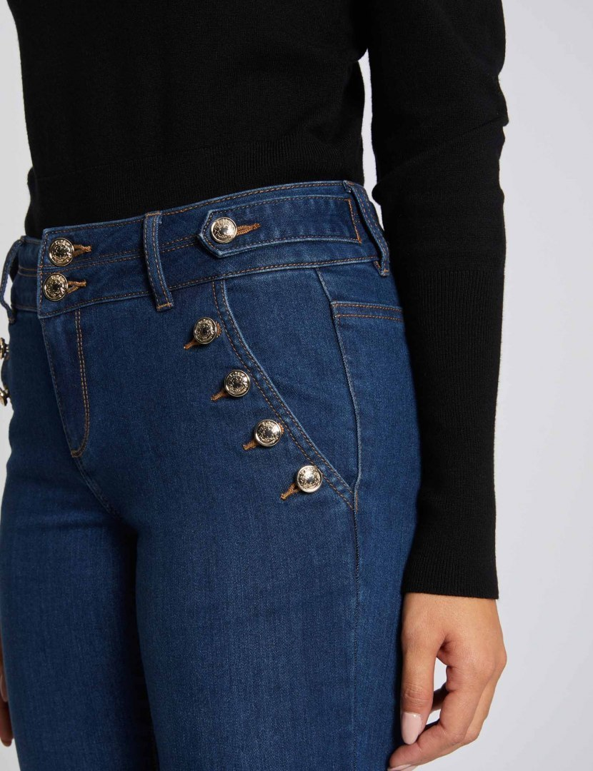 Morgan Pants PFARAH JEAN BRUT