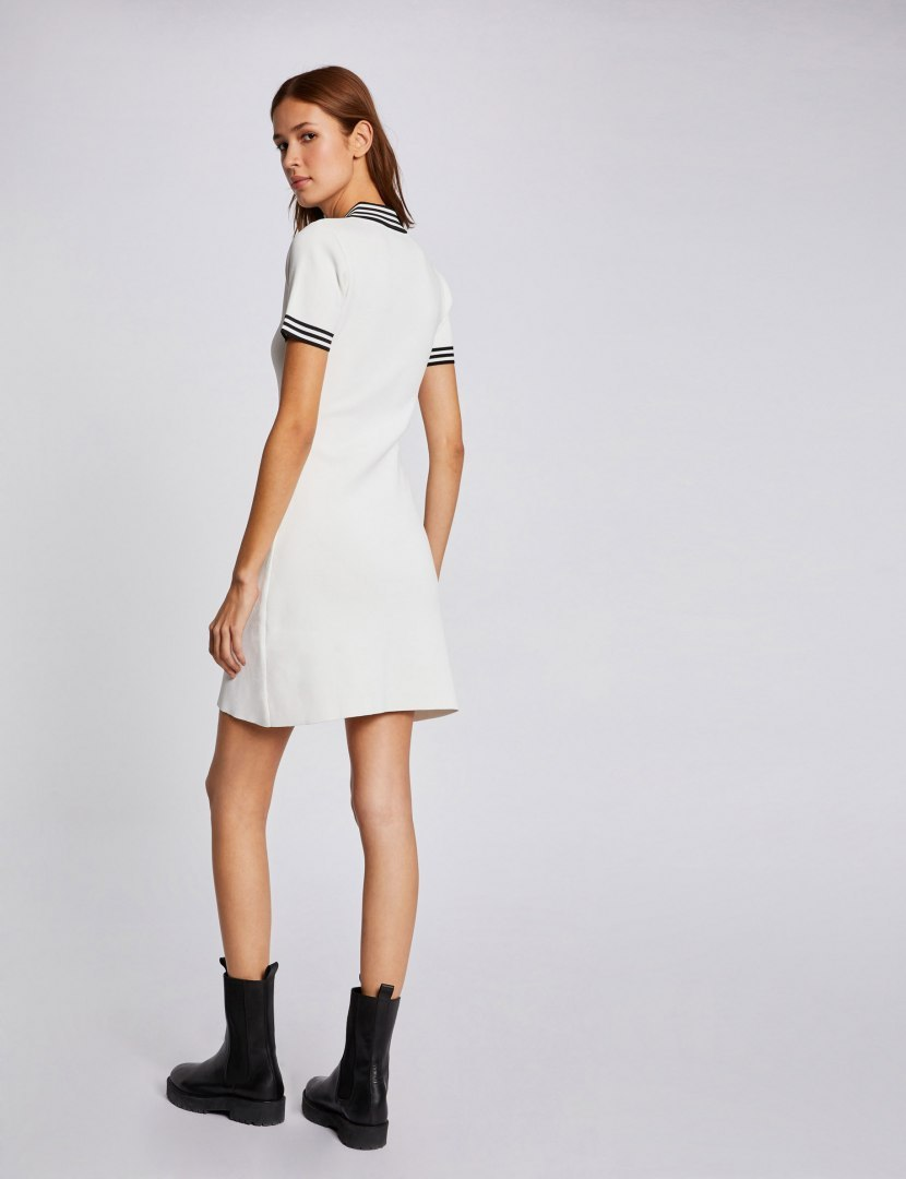 Morgan Dress RMKIWI OFF WHITE