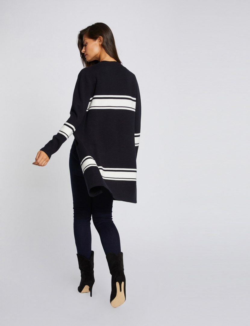 Morgan Sweater MAMBO MARIN/OFF WHITE