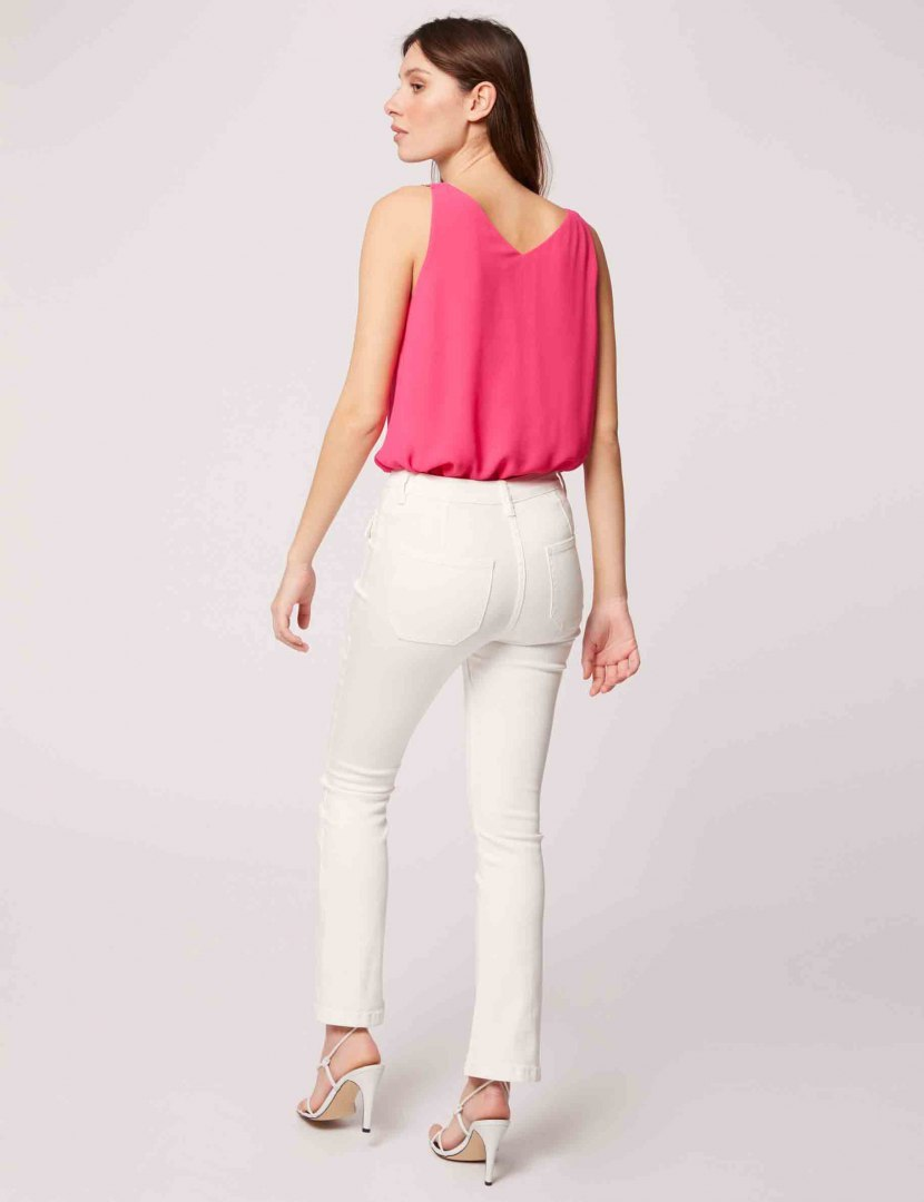 Morgan Blouse OVETI ROSE SHOCKING
