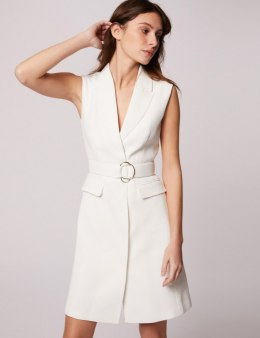 Morgan Dress RIMIKA OFF WHITE